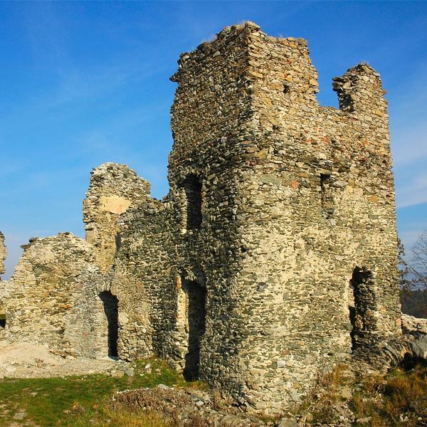 Brnicko Castle ruins