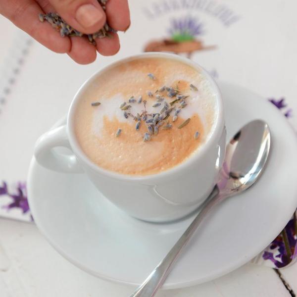 Levandulová kavárna