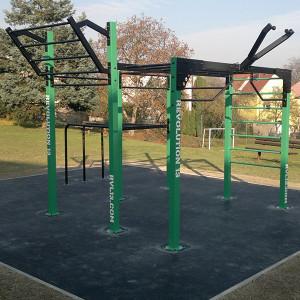 Workoutové hřiště na Výsluní
