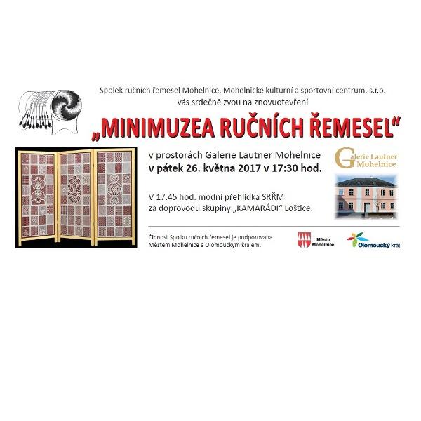 Znovuotevření Minimuzea ručních řemesel