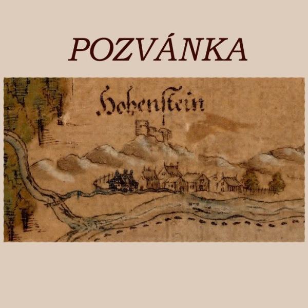 750 let obce Hoštejn