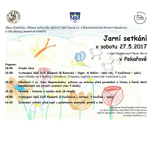 Jarní setkání v Pekařově