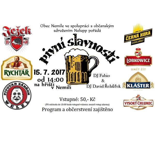 Pivní slavnosti v Nemili