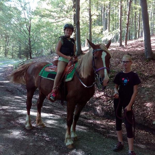 Prázdninový tábor u koní