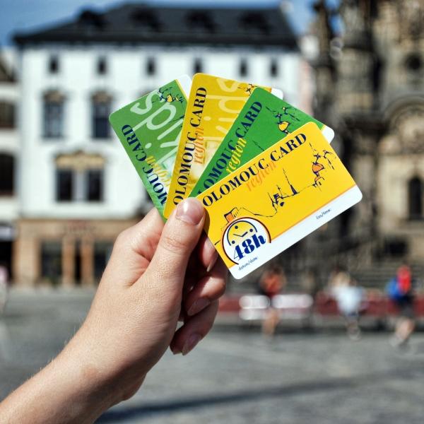 Na výlet s Olomouc region Card