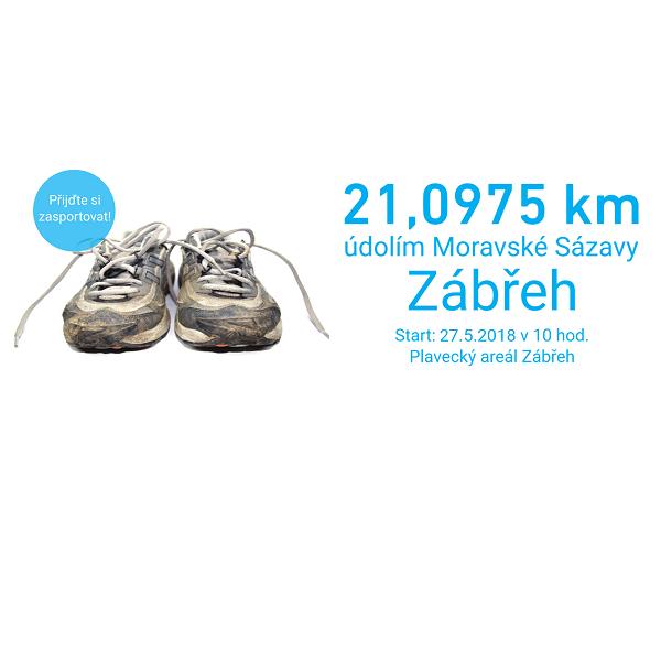 6. ročník Půlmaratonu údolím Moravské Sázavy