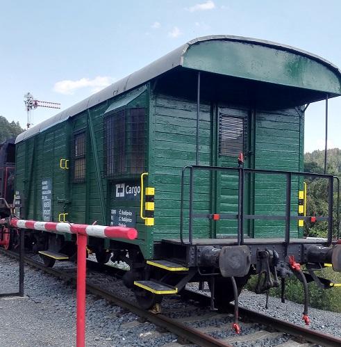 Železniční skanzen obohatil zrenovovaný služební vagon