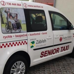 Senior Taxi Zábřeh