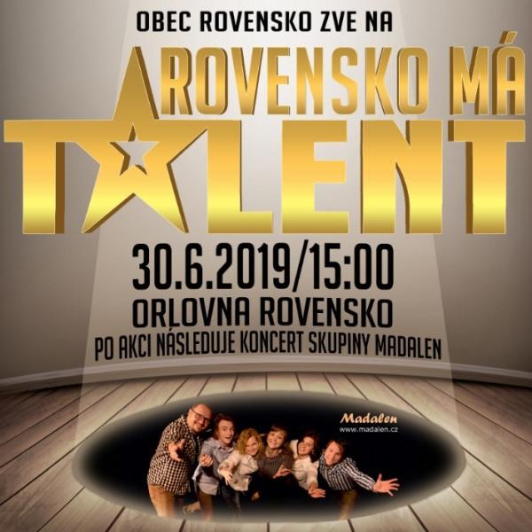 Rovensko má talent