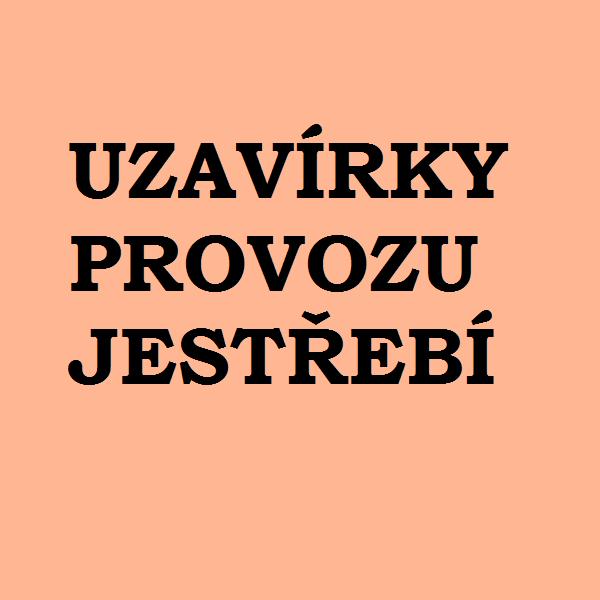Uzavírky provozu v Jestřebí