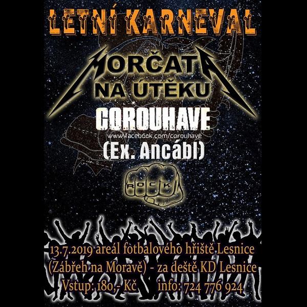 Letní karneval v Lesnici