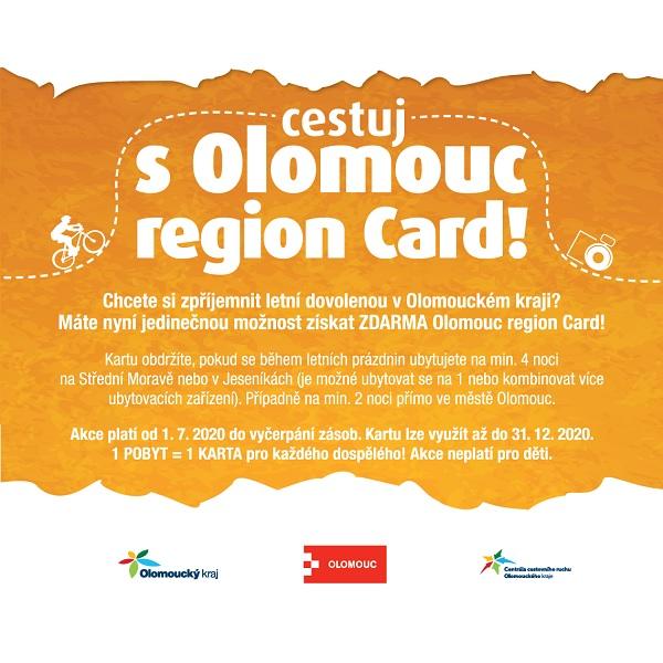 Cestuj s Olomouc Region Card