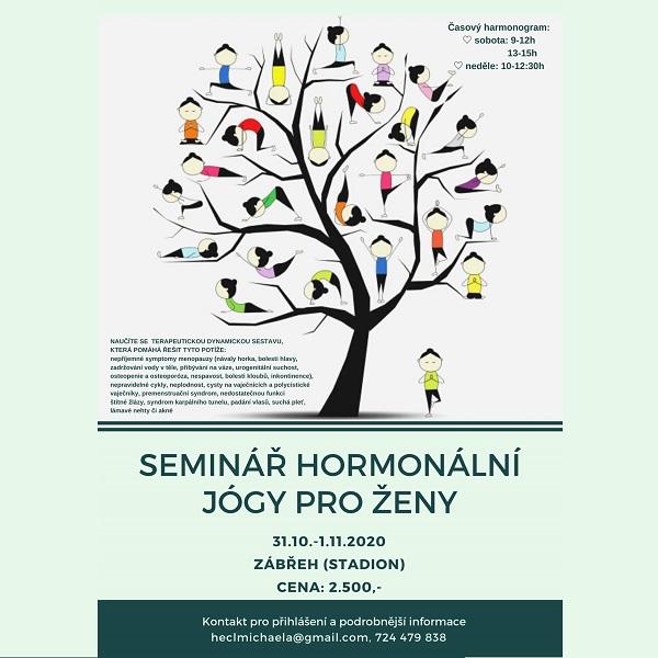 Seminář hormonální jógy pro ženy