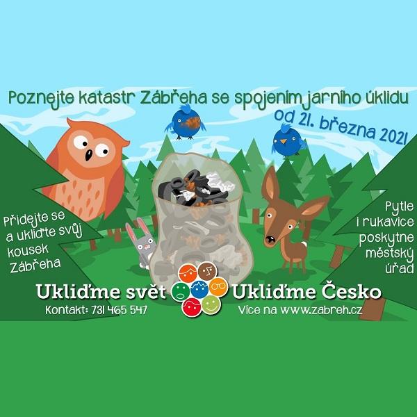 Ukliďme Česko aneb poznejte katastr Zábřeha se spojením jarního úklidu