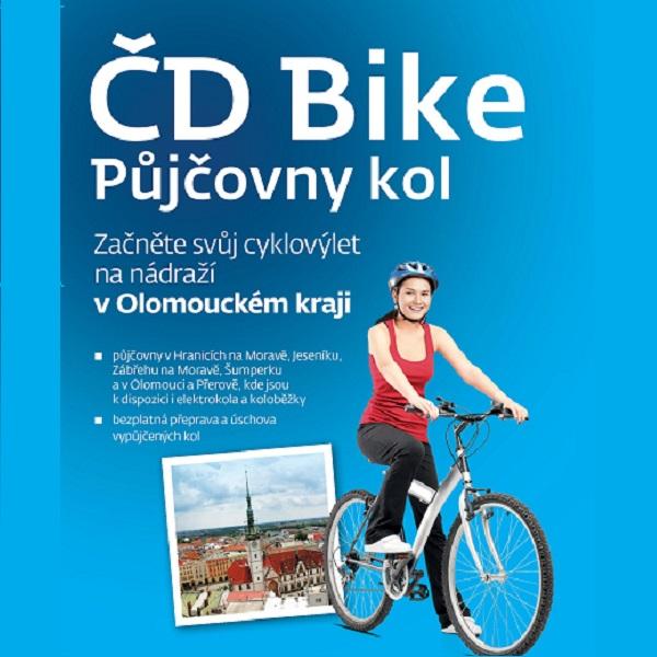 Půjčovny kol ČD Bike