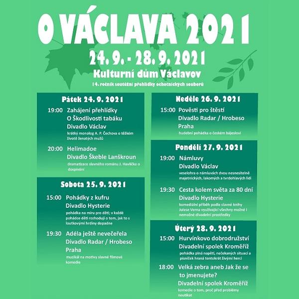 O Václava z Václavova 2021